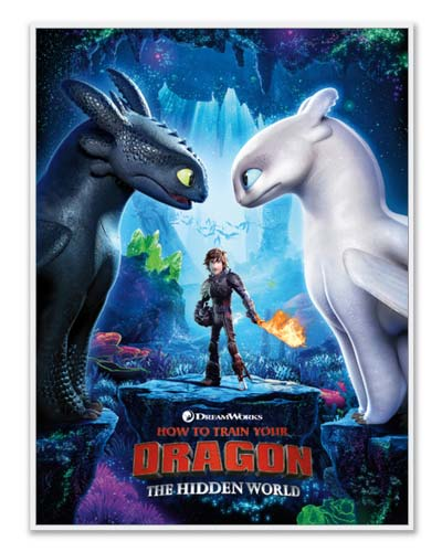 DreamWorks Dragons posters