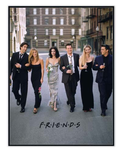 Friends posters