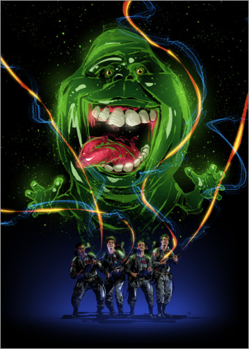 Premium poster Ghostbusters