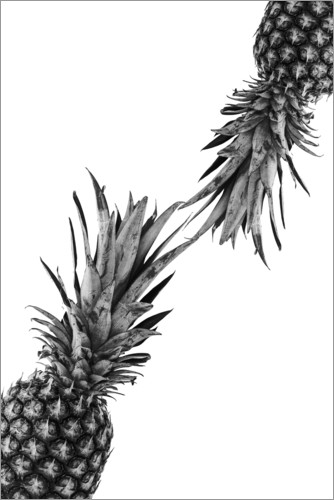 Premium poster Pineapple couple
