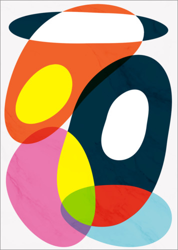 Premium poster Crazy abstract