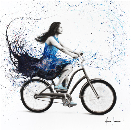 Premium poster Bicycle Ride