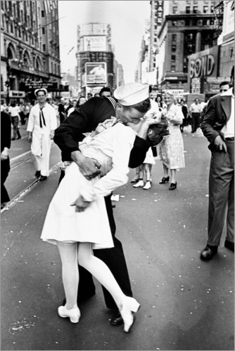 Premium poster V-Day in Times Square (The Kiss)