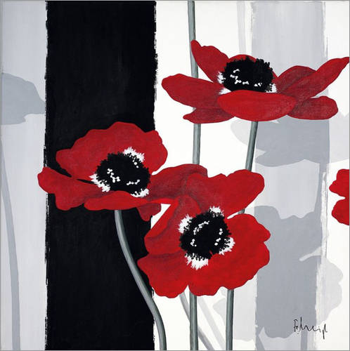 Wall sticker Anemones I