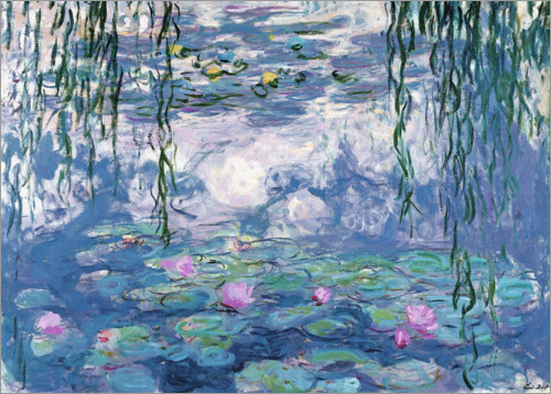 Premium poster Water Lilies