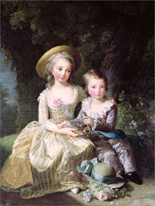 Premium poster Marie-Therese-Charlotte of France as a child