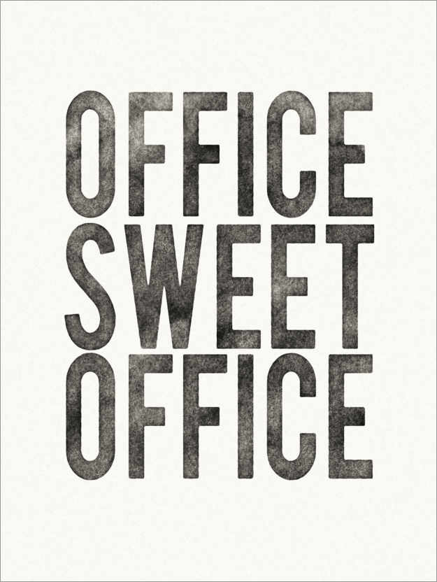 Premium poster Office Sweet Office