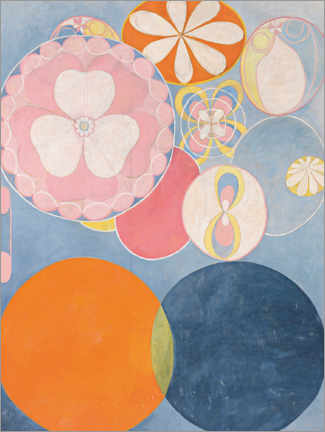 Premium poster  The Ten Largest, No. 2, Childhood - Hilma af Klint