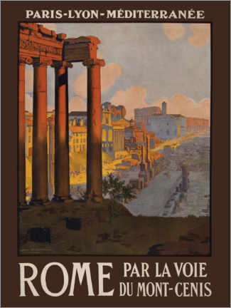 Canvas print  Rome - Travel Collection