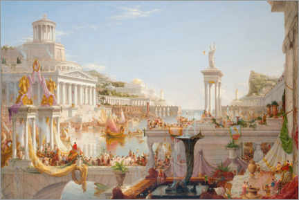 Acrylic print  The Consummation of Empire - Thomas Cole