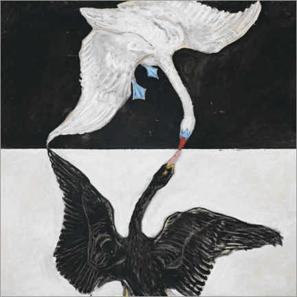 Gallery print  The Swan, No. 1 - Hilma af Klint