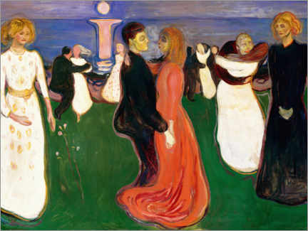 Canvas print  The Dance of Life - Edvard Munch