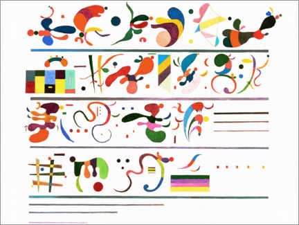 Canvas print  Succession - Wassily Kandinsky