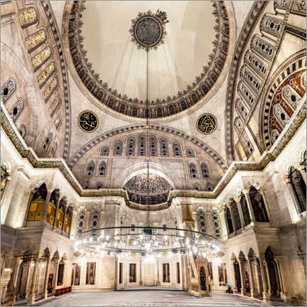 Canvas print  Blue Mosque Interior