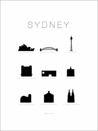 Wall sticker  Sydney - Schumff