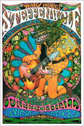 Premium poster  Steppenwolf - Freedom Hall - Entertainment Collection