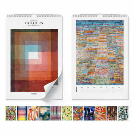 Wall calendar  Paul Klee, Colours 2021 - Paul Klee