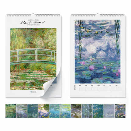 Wall calendar  Claude Monet, Water Lilies 2020 - Claude Monet