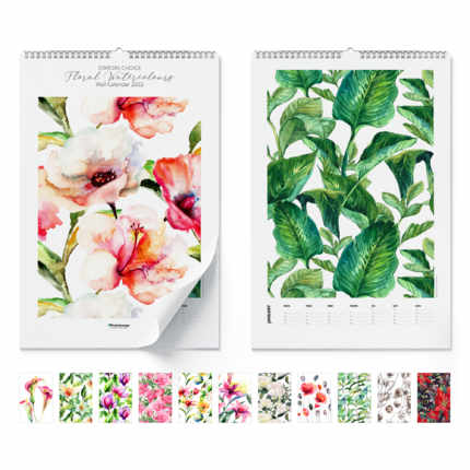 Wall calendar  Floral Watercolours 2020
