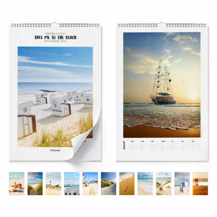 Wall calendar  Take Me To The Beach 2020