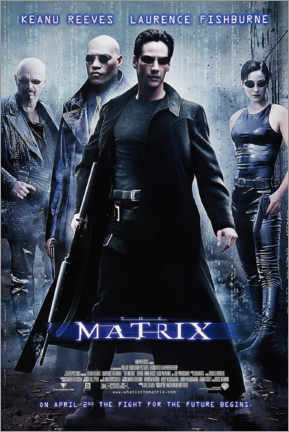 Gallery print  The Matrix (English) - Entertainment Collection