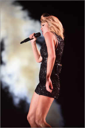 Premium poster  Taylor Swift in concert, F1 United States Grand Prix, Texas 2016