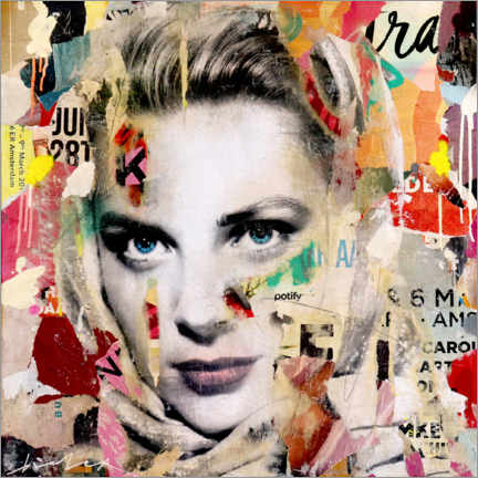 Canvas print  Grace Kelly - Michiel Folkers