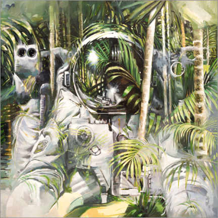 Premium poster  Bamboo forest - Johnny Morant