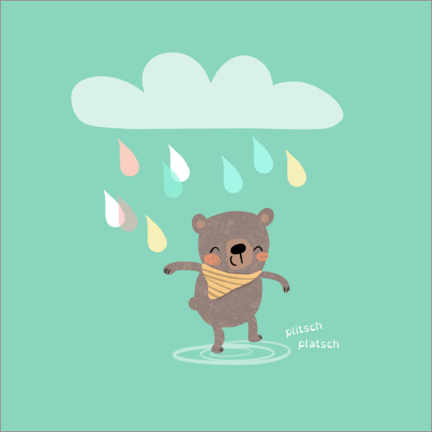Wall sticker  Rain joy - Julia Reyelt