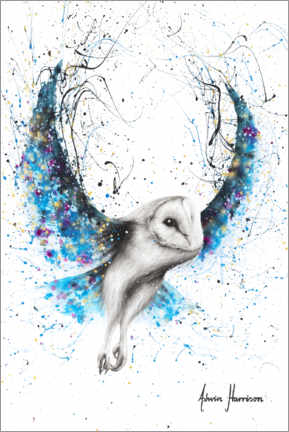 Canvas print  Mystical Owl - Ashvin Harrison