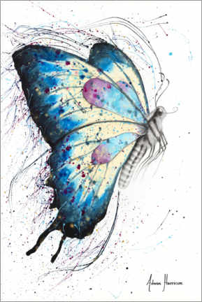 Premium poster Picnic Butterfly