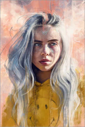 Acrylic print  Billie Eilish - Dmitry Belov