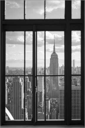 Acrylic print  Empire State Building in New York City - Jan Christopher Becke