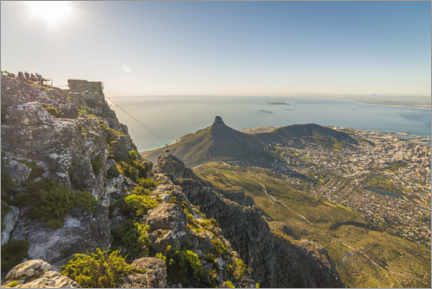 Premium poster Table Mountain