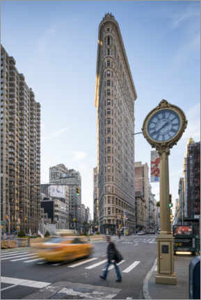 Premium poster Flatiron Building in New York City