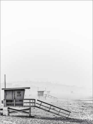 Acrylic print  Beach days - Magda Izzard