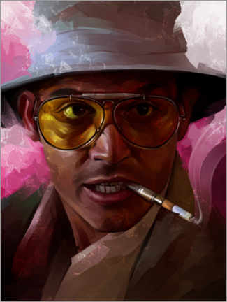 Premium poster Fear and Loathing in Las Vegas