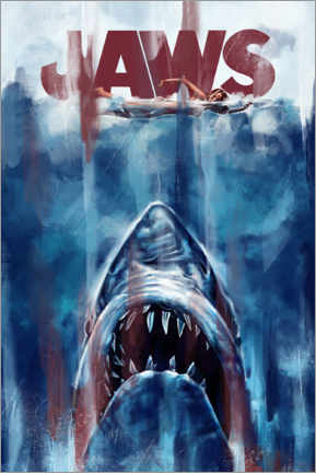 Premium poster  Jaws - Dmitry Belov