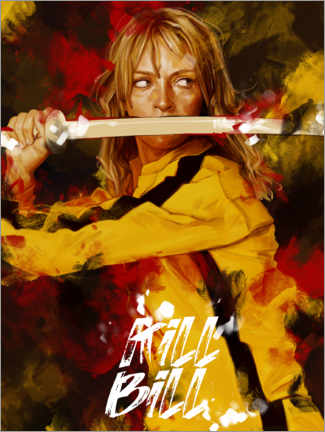 Premium poster  Kill Bill - Dmitry Belov