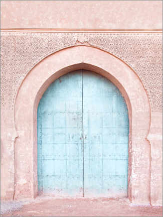 Canvas print  Turquoise door - Sisi And Seb