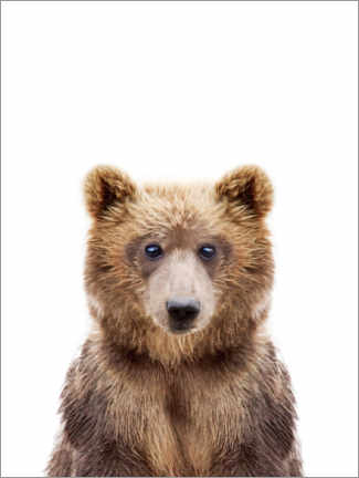 Canvas print  Brown bear - Sisi And Seb