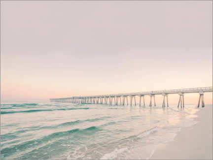 Acrylic print  Pier in the sunset - Sisi And Seb