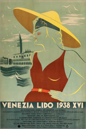 Premium poster  Venezia Lido - Travel Collection