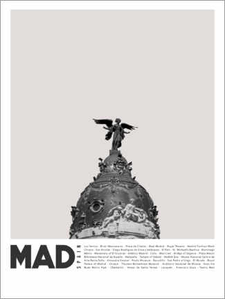 Premium poster  Attractions in Madrid - Finlay and Noa