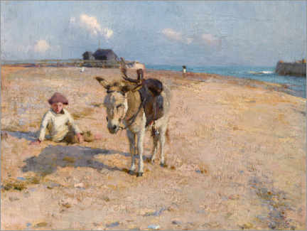 Canvas print  On Suffolk Sands - Walter Frederick Osborne