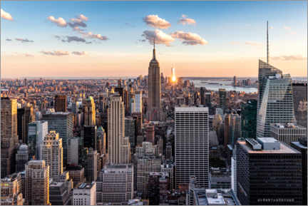 Gallery print  Sunset in New York City - Mike Centioli