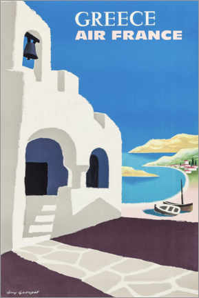 Canvas print  Greece - Travel Collection