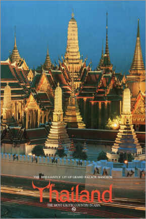 Acrylic print  Thailand, the most exotic country in Asia - Travel Collection