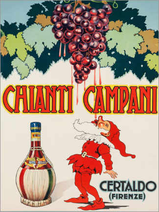 Acrylic print  Chianti Campani - Advertising Collection