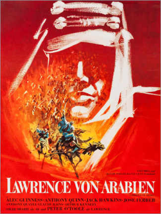 Premium poster  Lawrence of Arabia (German) - Entertainment Collection